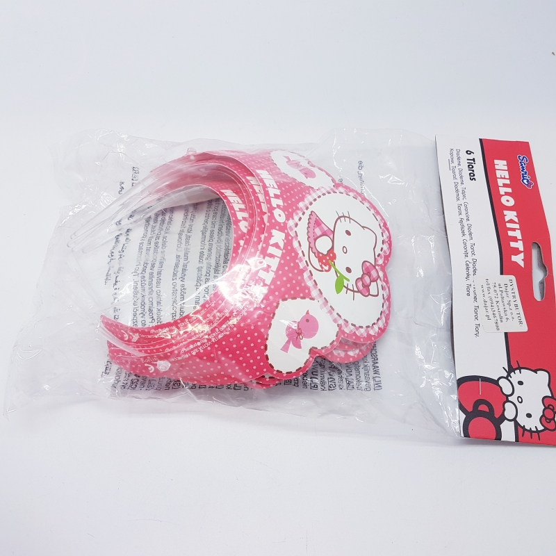 Peavõrud Hello Kitty (6 tk/pk)