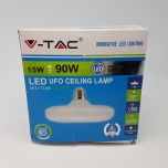 V-TAC LED UFO lamp E27 15W 3000K