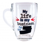 Joogikruus My life is my business 300ml