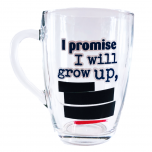 Joogikruus I promise I will grow up 300ml